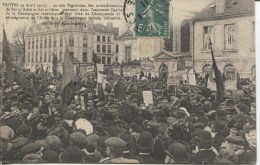 CPA - TROYES - 9 AVRIL 1911 - Troyes