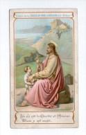 """"""" Là Où Est La Charité Et L´amour, Dieu Y Est Aussi """", Image Pieuse éd. De La Chocolaterie D´Aiguebelle, Jésus Et Enfant - Devotieprenten"""