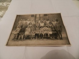 Photo école  Piennes - 1931   ( 80 Somme  ) - France