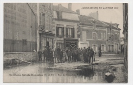 78 YVELINES - CONFLANS SAINTE HONORINE Rue De L'hôtel De Ville, Inondations 1910 - Conflans Saint Honorine