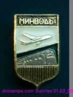 Soviet Airplane Soviet Air Lines Company / Soviet Badge _01-03_1253_09 - Avions