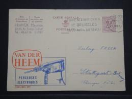 BELGIQUE - Entier Postal Illustré ( Perçeuses électriques) Pour L ' Allemagne En 1966 - A Voir - Lot P14431 - Ganzsachen
