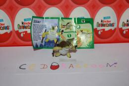 Kinder Surprise = Kung Fu Panda 3  = FS285 + Bpz Allemagne - Monoblocchi