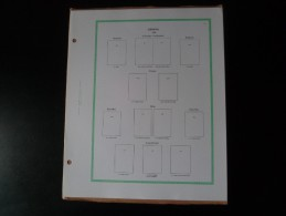 Pages Yvert Et Tellier Europa 1956 à 1984 Type FO Sans Pochette 85 Pages Neuves - Álbumes & Encuadernaciones