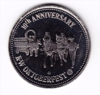 1978 Oktoberfest Kitchener-Waterloo $1 Token - Canada
