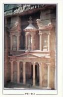 1 AK Jordanien Jordan * Berühmteste Bauwerk Petras Das Khazne Al-Firaun Erbaut Im 1. Jh. Seit 1985 UNESCO Weltkulturerbe - Jordanien