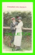 COUPLES - SAINT-VITAL DE-LAMBTON, QUÉBEC - J'ATTENDRAI VOTRE RÉPONSE À LAMBTON - BAMFORTH & CO LTD - ÉCRITE - - Couples
