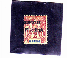 MONG- TZEU : Y&T  : 2* - Mong-tzeu (1906-1922)