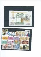 Espagne-Lot De 17 Timbres Neufs..+ 1 Bloc. - 1931-50 Lettres