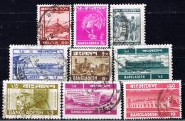 BD+ Bangladesch 1973 1976 1979 1983 1986 Mi 35 II 62 121 126 204 207-09 243 Verschiedene Marken - Bangladesch