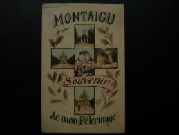 Cpa/pk Scherpenheuvel Montaigu Souvenir De Mon Pélérinage 1925 - Scherpenheuvel-Zichem