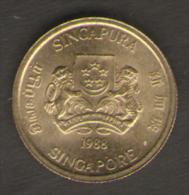 SINGAPORE 5 CENTS 1988 - Singapore