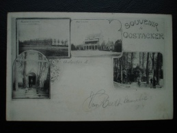 Cpa/pk Souvenir Oostacker Oostakker Gent  1920 - Gent