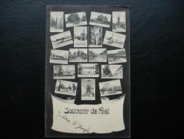 Cpa/pk Niel : Souvenir De Niel --- Multivieuw -- 1905 - Niel