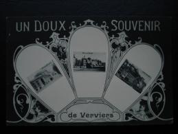 Cpa/pk Verviers Un Doux Souvenir De Verviers - Verviers