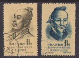 People's Rep. China  1955  Mi.nr. 278A + 279A  Used - Usados
