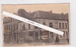 MERKSEM-FOTOKAART-OORLOG-1944-NA HET VERTREK DER DUITSERS-FOTO-THEO MEERSMANS-HISTORISCH DOCUMENT-ZIE 4 SCANS-TOP ! ! ! - Antwerpen