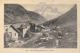 Vallorcine (Haute-Savoie) - La Poyaz - Aiguille Verte - Edition L. Fauraz - Carte Non Circulée - Francia