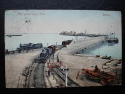 Cpa/pk DOVER The Admirally Pier Train Loco - Dover