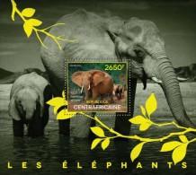 Central African Republic. 2014 Elephants. (524b) - Elephants