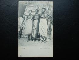 Cpa/pk Congo Types De La Cote D'Ivoire Seins Nues - Congo Belge - Autres
