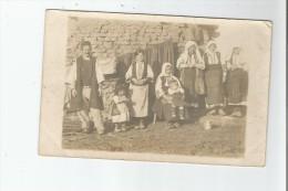MACEDOINE REGION DE MONASTIR GROUPE DE PAYSANS  1917 - Macédoine