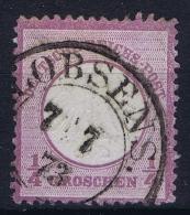 Deutsches Reich: Mi Nr 1 Gestempelt/used/obl.  1872 - Allemagne