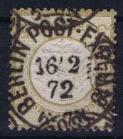 Deutsches Reich: Mi Nr 6  Gestempelt/used/obl.  Kleiner Brustschild - Oblitérés