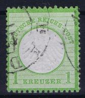 Deutsches Reich: Mi Nr 7  BPP Signiert /signed/ Signé KEUG Gestempelt/used/obl.  Kleiner Brustschild - Germany