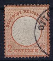 Deutsches Reich: Mi Nr 8  Gestempelt/used/obl.  Kleiner Brustschild - Oblitérés