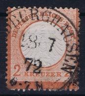 Deutsches Reich: Mi Nr 8  Gestempelt/used/obl.  Kleiner Brustschild - Germany