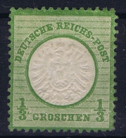 Deutsches Reich: Mi Nr  17 B  Grosser Brustschild  Signiert /signed/ Signé - Ungebraucht