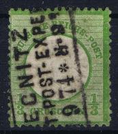 Deutsches Reich: Mi Nr  17 B Used  Grosser Brustschild - Germany