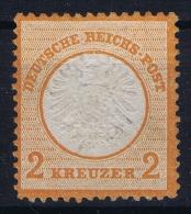 Deutsches Reich: Mi Nr 24 MNH/**/postfrisch Aber Regumiert Regummed  Signiert /signed/ Signé Grosser Brustschild - Ungebraucht