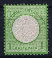 Deutsches Reich: Mi Nr 23 B Not Used (*) SG  Grosser Brustschild - Ungebraucht