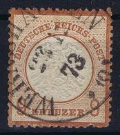 Deutsches Reich: Mi Nr 27 Used  Grosser Brustschild - Germany