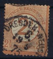 Deutsches Reich: Mi Nr 29 Used Plattefehler 29.1  , 1 Verschoben CV € 600   1874 Has A Thin Spot - Oblitérés
