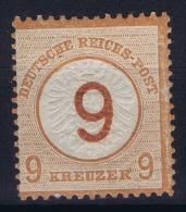 Deutsches Reich: Mi Nr 30 MH/*  Signiert /signed/ Signé  1874