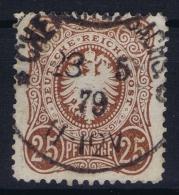 Deutsches Reich: Mi Nr 35 A  Used  BPP Signiert /signed/ Signé  Zenker 1875 - Deutschland