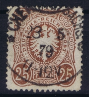 Deutsches Reich: Mi Nr 35 A  Used  BPP Signiert /signed/ Signé  Zenker 1875