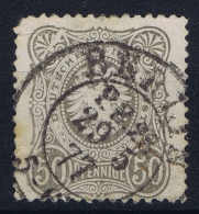 Deutsches Reich: Mi Nr 36  Plattefehler  P III  Weisser Keil Used 1875 - Gebraucht