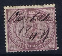 Deutsches Reich: Mi Nr 37 A Farbgeprüft Used BPP Signiert /signed/ Signé - Deutschland