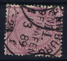 Deutsches Reich: Mi Nr 37 D BPP Signiert /signed/ Signé  Wiegand Used - Gebraucht