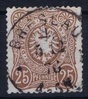 Deutsches Reich: Mi Nr 35 A  Used BPP Signiert /signed/ Signé Zenker