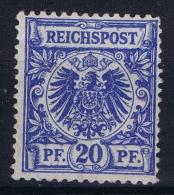 Deutsches Reich: Mi Nr 48 A MH/*  BPP Signiert /signed/ Signé