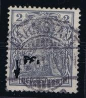 Deutsches Reich: Mi Nr 53 I Plattefehler - Gebraucht