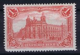 Deutsches Reich: Mi Nr 78 A MH/*