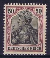 Deutsches Reich: Mi Nr 91 I A   MH/*