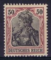 Deutsches Reich: Mi Nr 91 I A   MH/*  Signed/ Signé/signiert/