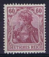 Deutsches Reich: Mi Nr 92 I A   MH/*  Signed/ Signé/signiert/   Richter - Ungebraucht